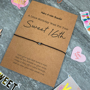 Sweet 16th Wish Bracelet-6-The Persnickety Co