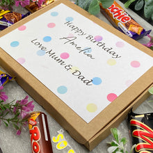 Load image into Gallery viewer, Personalised Birthday Chocolate Gift Box-8-The Persnickety Co
