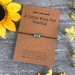 A Little Wish For Healing - Turquiose-2-The Persnickety Co