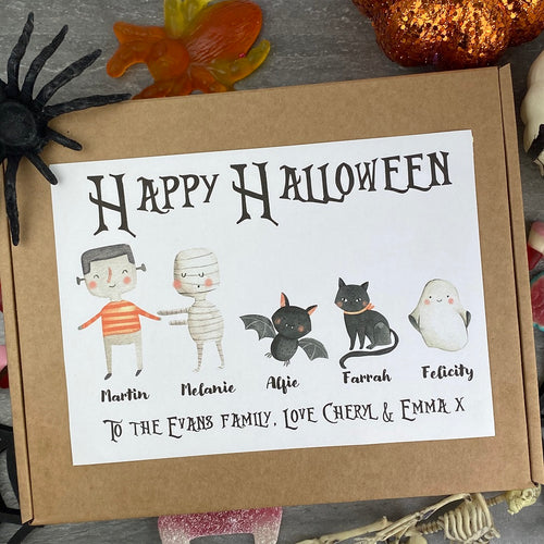 Happy Halloween Personalised Sweet Box-The Persnickety Co