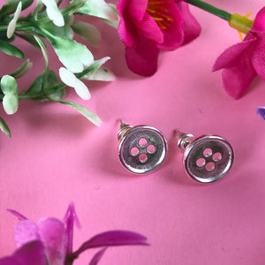 Mums Are Like Buttons Earrings-6-The Persnickety Co