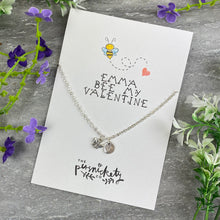 Load image into Gallery viewer, Bee My Valentine Necklace-3-The Persnickety Co