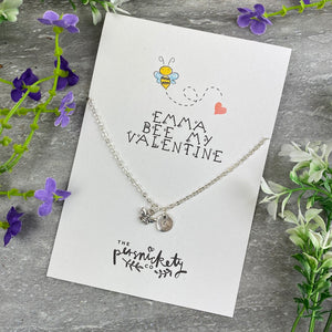 Bee My Valentine Necklace-3-The Persnickety Co