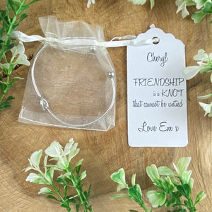 Friendship Is A Knot Bangle-10-The Persnickety Co