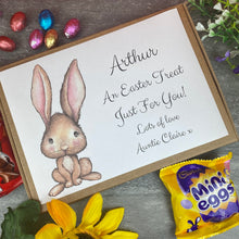 Load image into Gallery viewer, Happy Easter Personalised Chocolate Box-The Persnickety Co