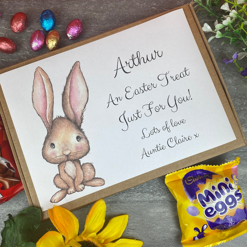 Happy Easter Personalised Chocolate Box-The Persnickety Co