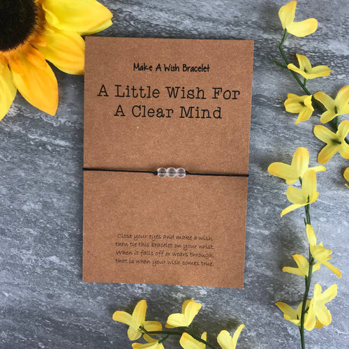 A Little Wish For A Clear Mind - Clear Quartz-The Persnickety Co