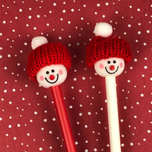 Load image into Gallery viewer, Cute Snowman Pens-The Persnickety Co