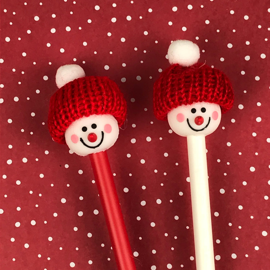 Cute Snowman Pens-The Persnickety Co