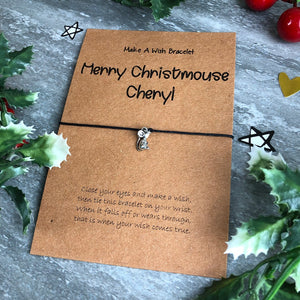 Merry Christmouse Wish Bracelet-5-The Persnickety Co