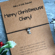 Load image into Gallery viewer, Merry Christmouse Wish Bracelet-4-The Persnickety Co