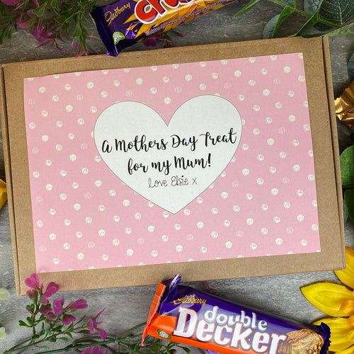 Personalised Mothers Day Chocolate Box-The Persnickety Co