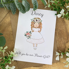 Load image into Gallery viewer, Wedding Card - Will You Be Our Flower Girl?-3-The Persnickety Co