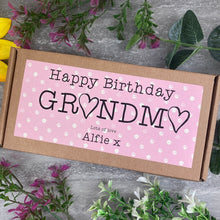 Load image into Gallery viewer, Happy Birthday Grandma Liquorice Treat Box-The Persnickety Co