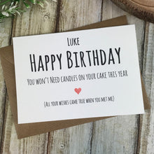 Load image into Gallery viewer, Personalised Humorous Birthday Card-5-The Persnickety Co