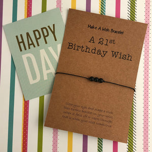A 21st Birthday Wish - Onyx-5-The Persnickety Co