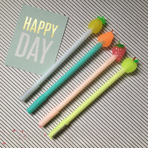 Fruit Topped Gel Pen-The Persnickety Co