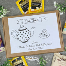 Load image into Gallery viewer, Tea-Riffic Friend Personalised Tea and Biscuit Box-7-The Persnickety Co