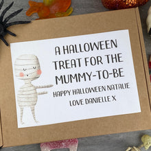 Load image into Gallery viewer, Mummy To Be Personalised Halloween Sweet Box-The Persnickety Co