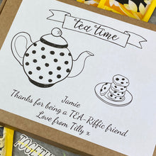 Load image into Gallery viewer, Tea-Riffic Friend Personalised Tea and Biscuit Box-4-The Persnickety Co