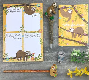 Sloth Stationery Set-7-The Persnickety Co