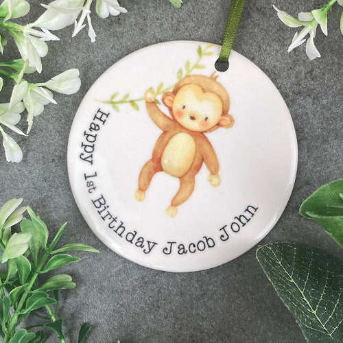 Personalised First Birthday Hanging Decoration-The Persnickety Co