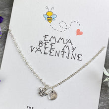 Load image into Gallery viewer, Bee My Valentine Necklace-8-The Persnickety Co