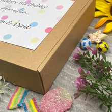 Load image into Gallery viewer, Happy Birthday Personalised Sweet Box-3-The Persnickety Co