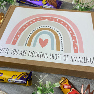 You Are Nothing Short Of Amazing Personalised Chocolate Box-6-The Persnickety Co