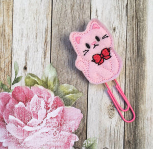 Felt Cat Paper Clip-7-The Persnickety Co