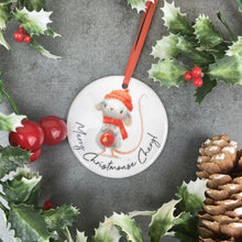 Load image into Gallery viewer, Personalised Christmouse Hanging Decoration-8-The Persnickety Co