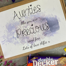 Load image into Gallery viewer, Personalised Auntie Chocolate Box