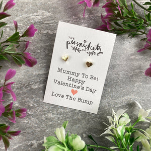 Mummy To Be Happy Valentine's Day Earrings-The Persnickety Co