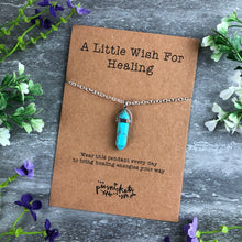 Load image into Gallery viewer, Crystal Necklace - A Little Wish For Healing-8-The Persnickety Co