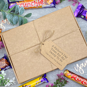 Daddy To Be Father's Day - Personalised Chocolate Gift Box-The Persnickety Co