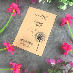 Let Love Grow Wedding Favours - Pack of 12-6-The Persnickety Co