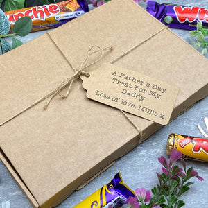 A Father's Day Treat - Personalised Chocolate Gift Box-3-The Persnickety Co