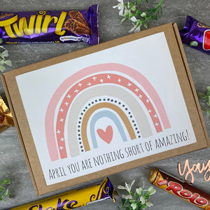 You Are Nothing Short Of Amazing Personalised Chocolate Box-10-The Persnickety Co