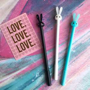 Cute Bunny Pen-The Persnickety Co