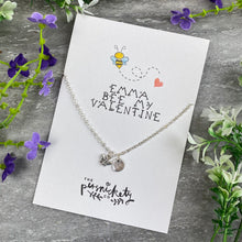 Load image into Gallery viewer, Bee My Valentine Necklace-2-The Persnickety Co