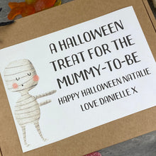 Load image into Gallery viewer, Mummy To Be! Personalised Halloween Sweet Box-7-The Persnickety Co