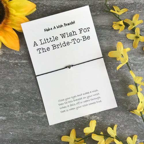 A Little Wish For The Bride-To-Be-The Persnickety Co