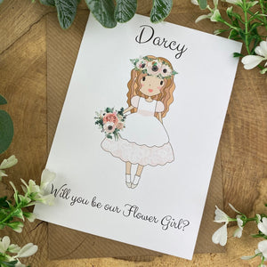 Wedding Card - Will You Be Our Flower Girl?-9-The Persnickety Co