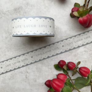 Live, Laugh, Love Washi Tape-The Persnickety Co