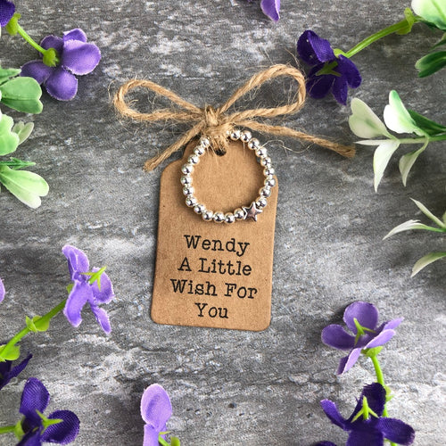 A Little Wish For You Stretch Ring-The Persnickety Co