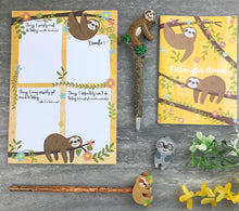 Load image into Gallery viewer, Sloth Stationery Set-8-The Persnickety Co