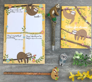 Sloth Stationery Set-8-The Persnickety Co