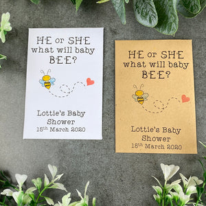 He Or She What Will Baby Bee?-The Persnickety Co