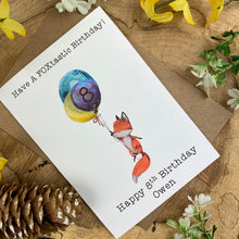 Load image into Gallery viewer, FOXtastic Birthday Card-4-The Persnickety Co