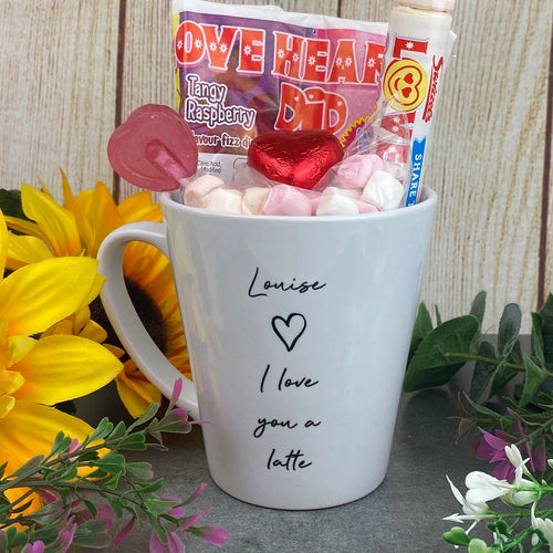 Personalised I Love You A Latte Mug-The Persnickety Co